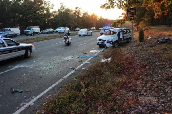 TRAFFIC ALERT: WB Rt  50 Blocked by Accident | ARLnow com