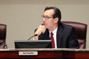 County Board Chair Jay Fisette