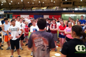 Ultimate Frisbee clinic (photo courtesy of Scandal)