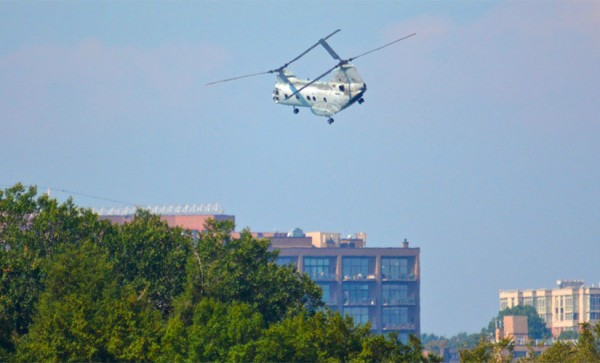 Helicopter over Arlington (Flickr pool photo by J Sonder)