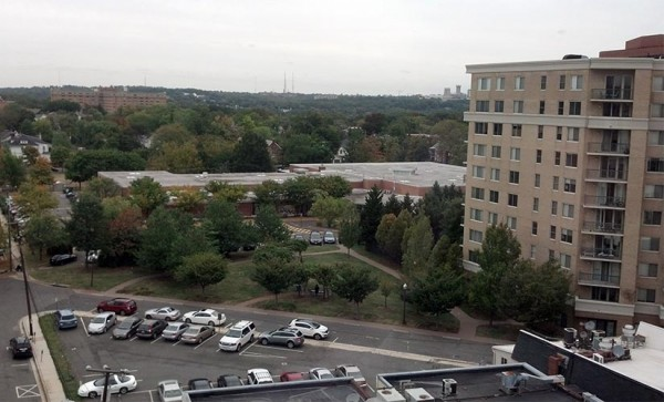 View of Key School from a nearby office building