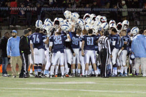 The Yorktown High School football team