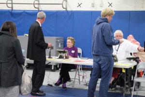 Barrett Elementary School polling place