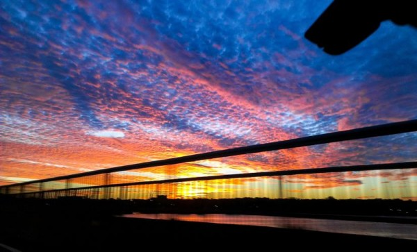 Sunset from the 14th Street Bridge (Flickr photo by Eschweik)