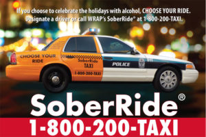2013 Holiday SoberRide poster