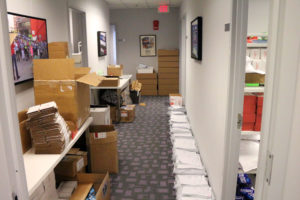 The Ready for HIllary offices in Rosslyn
