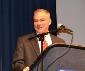 Sen. Tim Kaine (D) (courtesy photo)