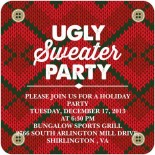 Bungalow ugly sweater party