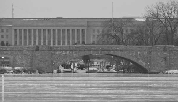 Columbia Island marina on the frozen Potomac River (Flickr pool photo by J. Sonder)