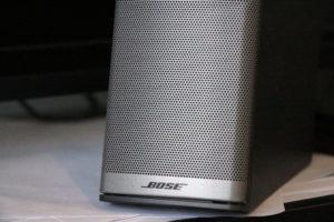 A Bose speaker