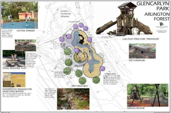 New playground proposed for Glencarlyn Park