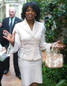 Oprah Winfrey (Photo courtesy Alan Light via Wikipedia)