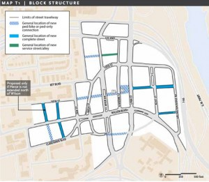 Rosslyn Sector Plan framework map