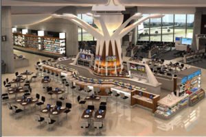 DCA Terminal A renovation rendering