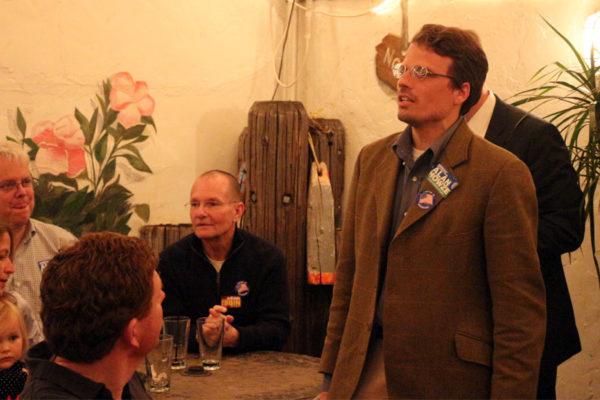 Arlington County Democrats chair Kip Malinosky