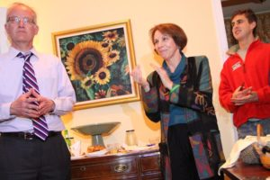Arlington County Board member Libby Garvey at the John Vihstadt victory party 4/8/14