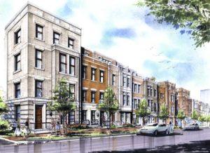 Rosslyn Commons development sketch