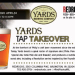 Yards tap takeover flyer