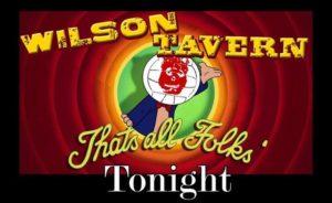 Wilson Tavern closing party flyer (photo via Facebook)