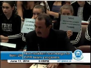 Arlington County Sports Commission Chair Craig Esherick