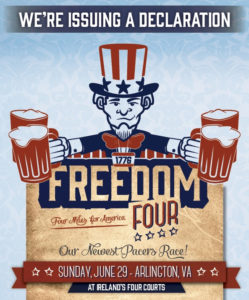 Freedom Four Miler poster