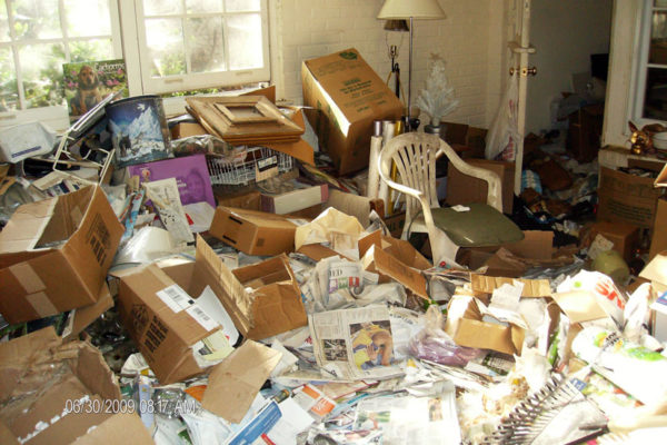 An example of a hoarding case in Arlington County (photo courtesy Arlington Department of Human Services)