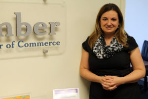 New Arlington Chamber of Commerce President Kate Roche
