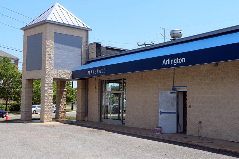 maserati dealership coming to arlington | arlnow