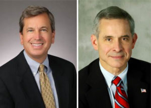 48th District candidates Rip Sullivan (left) and David Foster (right)