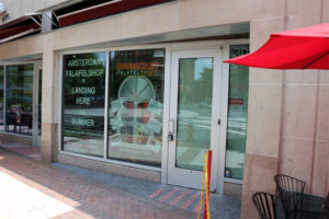 Amsterdam Falafelshop's future space in Clarendon