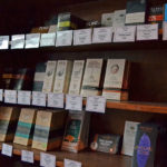 The Curious Grape's selection of chocolate bars