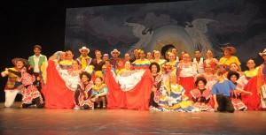 El Tayrona dance ensemble.