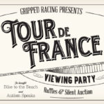 TdF viewing party flyer