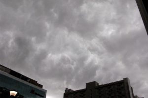 Storm clouds over Rosslyn 7/3/14