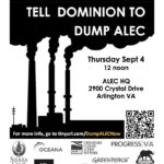 Dominion ALEC rally