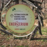 Entry Circle Sign at Potomac Overlook Regional Park