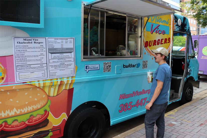 Miami Press Food Truck Food Network