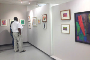 """Making Their Mark: Art Brut"" at Gallery Underground (photo via ServiceSource)"
