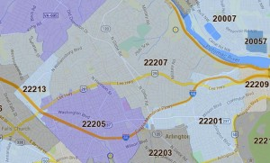 North Arlington ZIP codes
