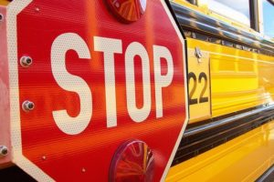 Cameras will be installed on school bus stop sign