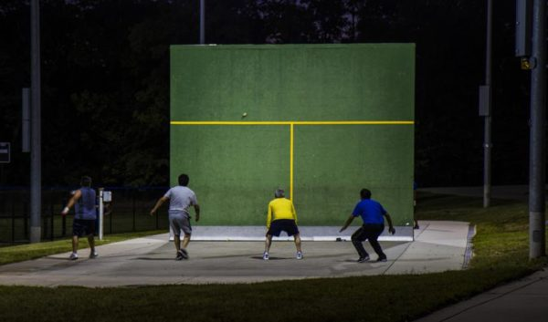 Handball at Barcroft Sports Center (Flickr pool photo by Highmuckmuck)
