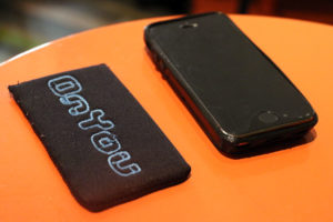 OnYou's iPhone case and magnet