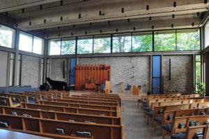 The Unitarian Universalist Church of Arlington at 4444 Arlington Blvd (Photo courtesy UUCA)