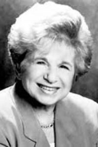 Dr. Ruth Westheimer (courtesy photo)