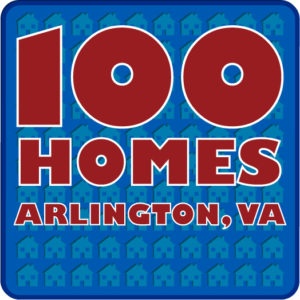 100 Homes logo (via Arlington County website)