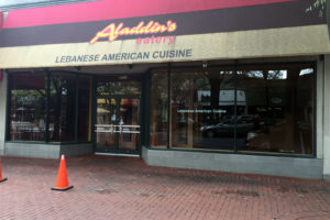 Aladdin's Eatery closes in Shirlington