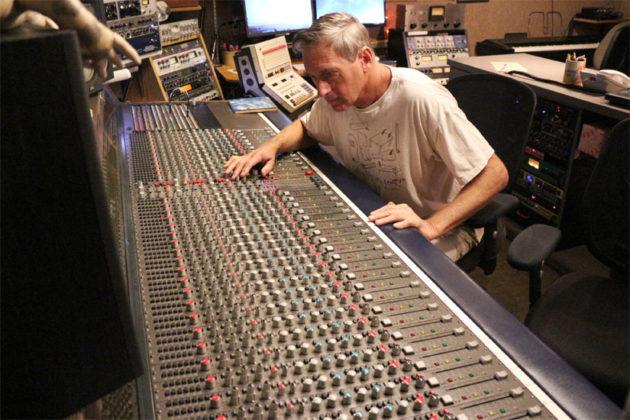 Inner Ear Studio owner Don Zientara at work at Inner Ear Studios