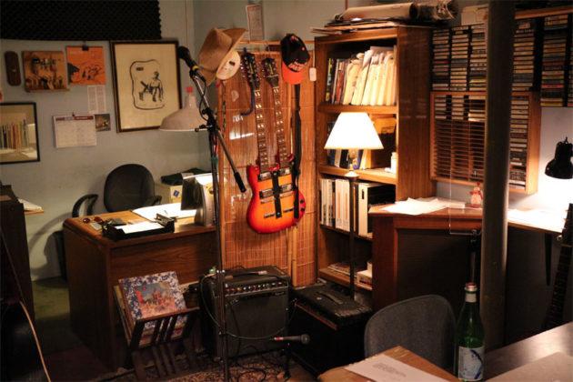 The office at Inner Ear Studio