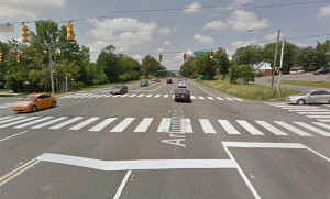 Route 50 at Irving Street (photo via Google Maps)