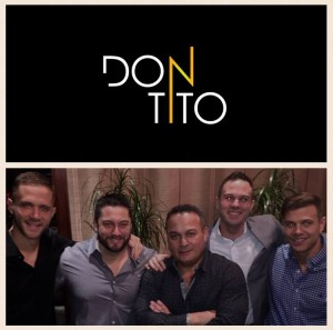"""Don Tito"" logo and partners"